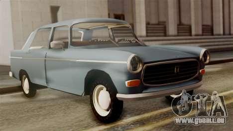Peugeot 404 pour GTA San Andreas