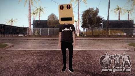 LMFAO Robot pour GTA San Andreas deuxième écran