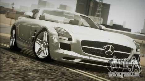 Mercedes-Benz SLS AMG 2013 für GTA San Andreas Innenansicht