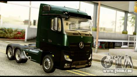 Mercedes-Benz Actros MP4 6x4 Standart Interior für GTA San Andreas