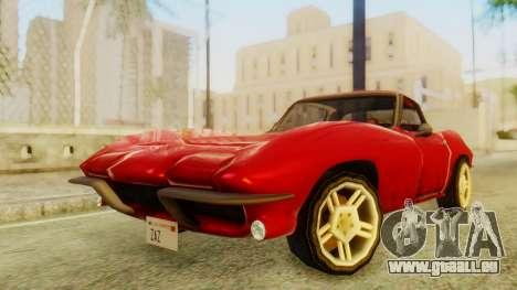 Chevrolet Corvette Sting Ray 427 SA Style pour GTA San Andreas