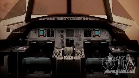 Airbus A320-200 pour GTA San Andreas vue arrière