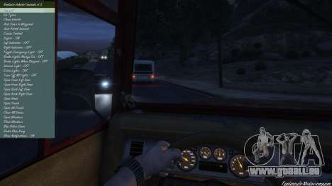 GTA 5 Realistic Vehicle Controls LUA 1.3.1 neuvième capture d'écran