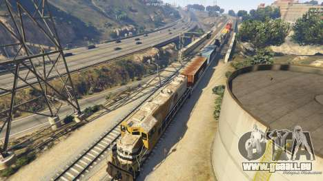 GTA 5 Railroad Engineer 3 septième capture d'écran