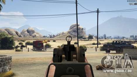 GTA 5 Battlefield 4 CZ805 septième capture d'écran