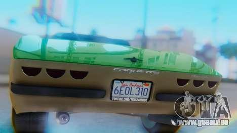 Invetero Coquette BlackFin v2 GTA 5 Plate pour GTA San Andreas vue intérieure