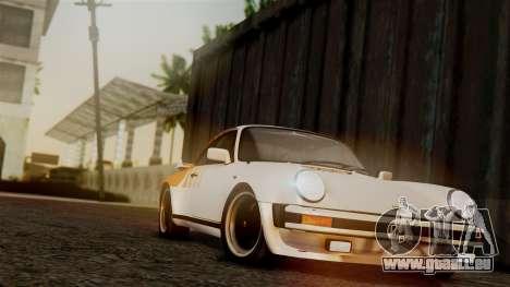 Porsche 911 Turbo (930) 1985 Kit C PJ für GTA San Andreas Motor