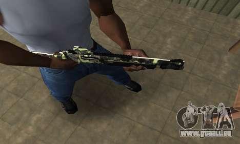 Fusil De Chasse Camo pour GTA San Andreas deuxième écran
