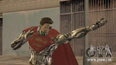 Superman Cyborg v2 für GTA San Andreas