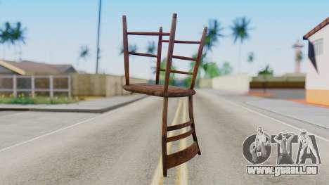 Chair from Silent Hill Downpour pour GTA San Andreas deuxième écran