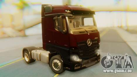 Mercedes-Benz Actros MP4 Stream Space Black pour GTA San Andreas