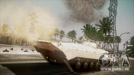 Call of Duty 4: Modern Warfare BMP-2 für GTA San Andreas