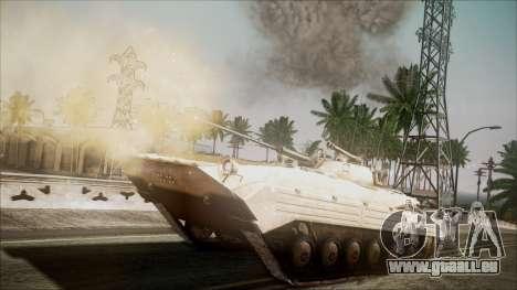Call of Duty 4: Modern Warfare BMP-2 für GTA San Andreas