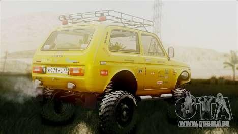 VAZ Niva 2121 pour GTA San Andreas laissé vue