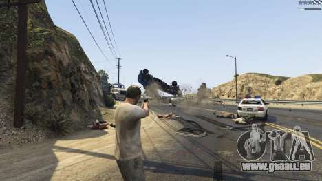 GTA 5 Gravity Gun 1.5 dritten Screenshot