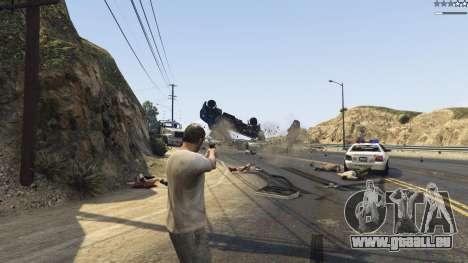GTA 5 Gravity Gun 1.5 troisième capture d'écran