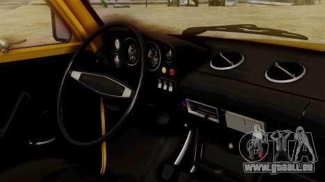 VAZ Niva 2121 pour GTA San Andreas sur la vue arrière gauche