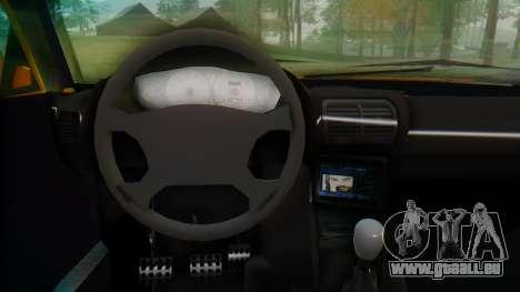 Samand Taxi pour GTA San Andreas vue de droite