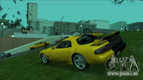 ZR-350 Double Lightning für GTA San Andreas