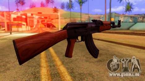 Atmosphere AK47 pour GTA San Andreas deuxième écran