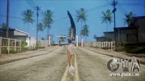 Collector couteau pour GTA San Andreas