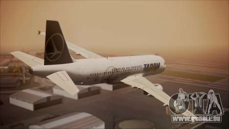 Airbus A320 TAROM Romania pour GTA San Andreas laissé vue