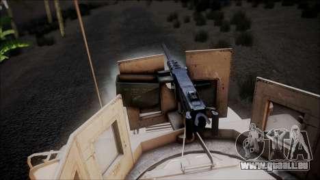 HMMWV Croatian Army ISAF Contigent für GTA San Andreas rechten Ansicht