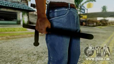 Police Baton from Silent Hill Downpour v2 für GTA San Andreas dritten Screenshot