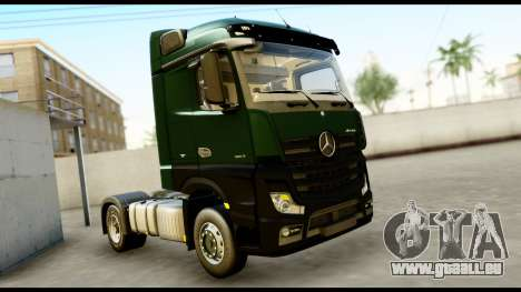 Mercedes-Benz Actros MP4 4x2 Exclusive Interior für GTA San Andreas