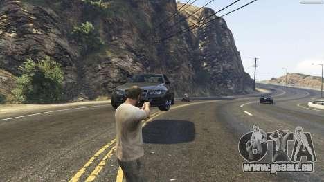 GTA 5 Gravity Gun 1.5 sixième capture d'écran