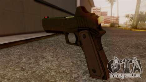 Heavy Pistol GTA 5 pour GTA San Andreas deuxième écran