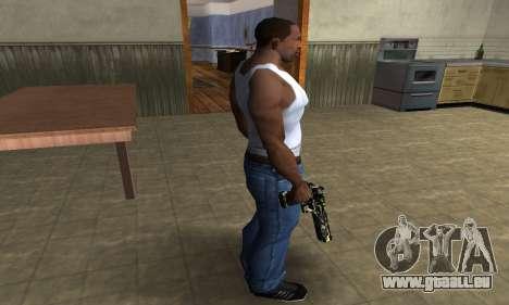 Deagle Camo für GTA San Andreas dritten Screenshot