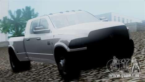 Dodge Ram 3500 2010 pour GTA San Andreas