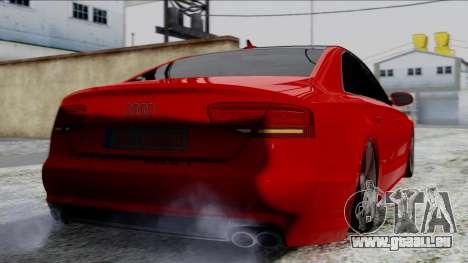 Audi A8 Turkish Edition pour GTA San Andreas laissé vue