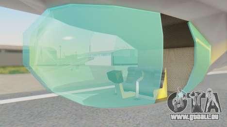 Dirigible de La Serenisima 1995 pour GTA San Andreas vue de droite
