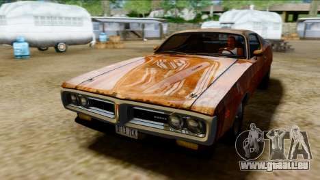 Dodge Charger Super Bee 426 Hemi (WS23) 1971 PJ pour GTA San Andreas vue de côté