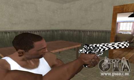 Math Deagle pour GTA San Andreas troisième écran