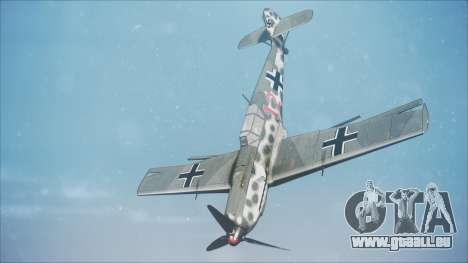 Messerschmitt BF-109 E-4 IJAAF pour GTA San Andreas
