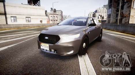 Ford Taurus 2010 Unmarked Police [ELS] pour GTA 4