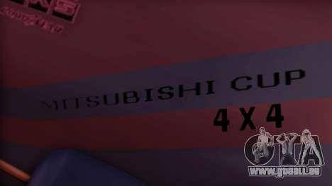 Sandking Mitsubishi Cup für GTA San Andreas rechten Ansicht