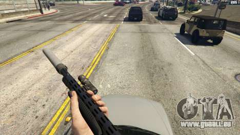 GTA 5 Stand On Moving Cars zweite Screenshot