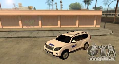 Toyota Land Cruiser OSZE (ОБСЕ) für GTA San Andreas