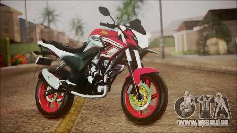 Honda CB150R Streetfire für GTA San Andreas