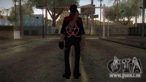 Christian Brutal Sniper from TF2 pour GTA San Andreas troisième écran