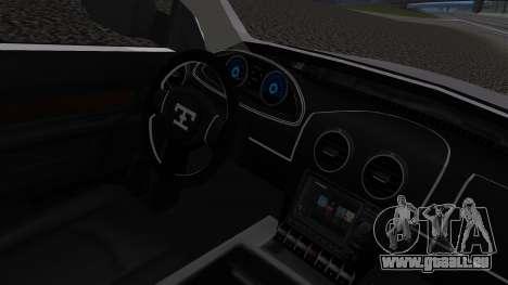 Dodge Ram 3500 2010 pour GTA San Andreas vue de droite