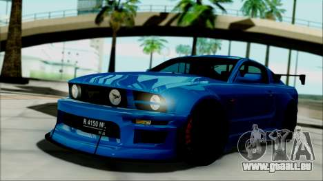 Ford Mustang GT Modification für GTA San Andreas