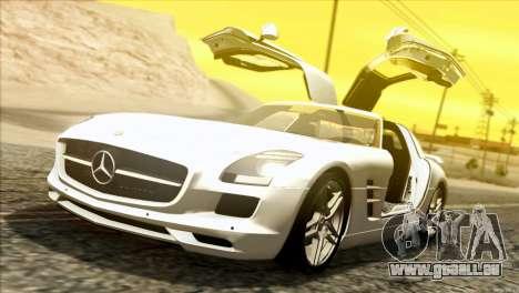 Mercedes-Benz SLS AMG 2013 für GTA San Andreas linke Ansicht