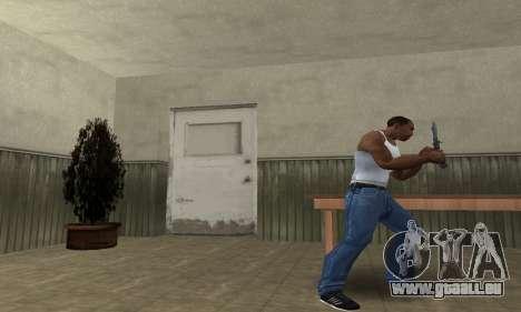 Butterfly Knife pour GTA San Andreas deuxième écran