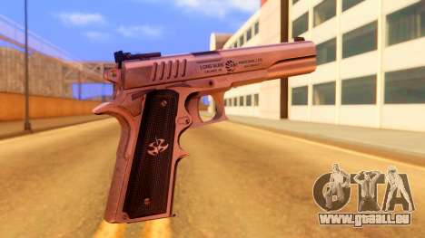 Atmosphere Pistol für GTA San Andreas zweiten Screenshot