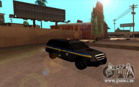 Chevrolet Blazer Berkut pour GTA San Andreas